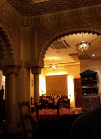 Restaurante Sultan: interni