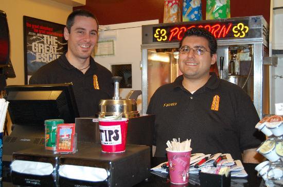 Avon Theatre Film Center: Best popcorn in town!