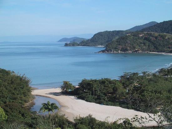 Sao Sebastiao, SP: view of Barra do Sahy beach
