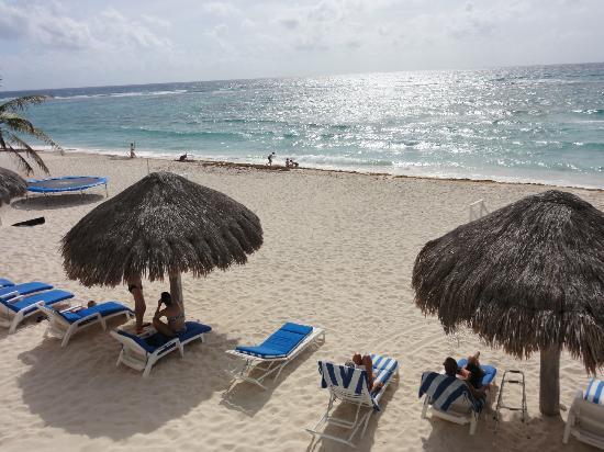 Villas DeRosa Beach Resort: View from Room