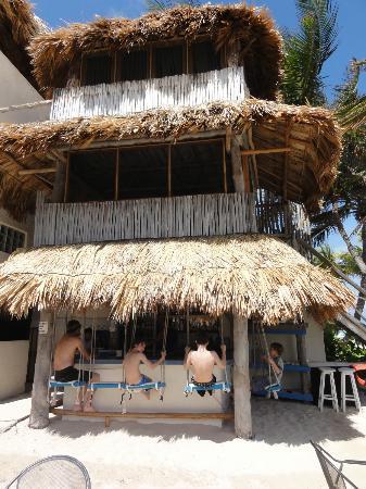 منتجع شاطئ فيلاس دي روزا: adjacent beach bar