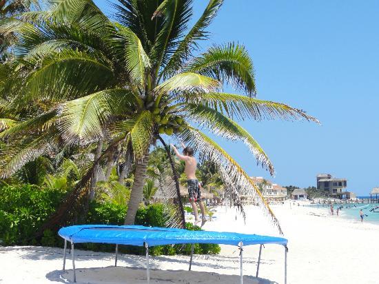 Villas DeRosa Beach Resort: tramp