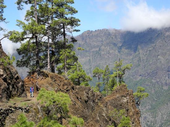 Puerto Naos, Spanien: Wanderung in der Caldera