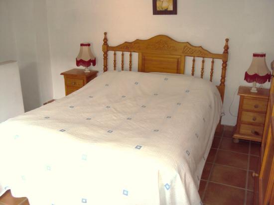 Cortijo Las Olivas: The bedroom in the Hacienda