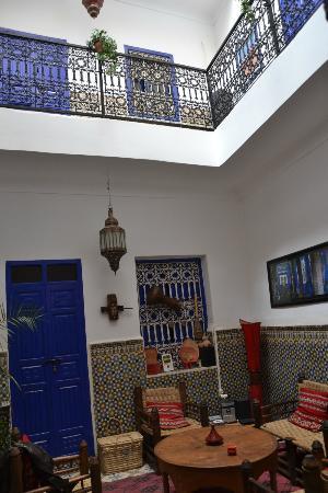 Riad Dar Tiflet: Patio rez-de-chaussée