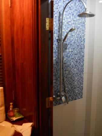 Villa Pumalin: Shower room