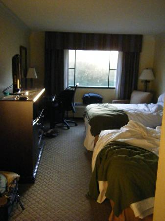 Holiday Inn Express Athens: View of room from door