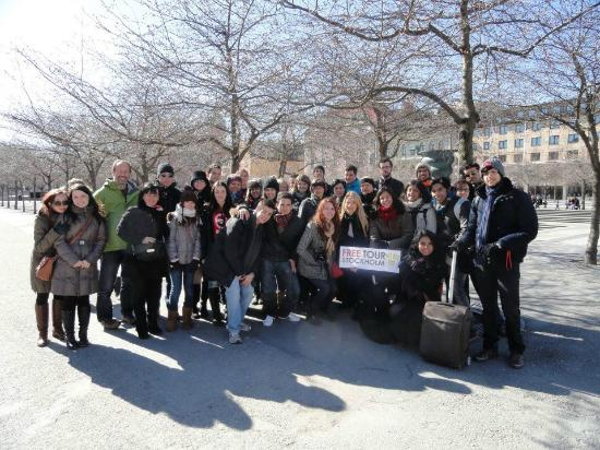 Free Tour Stockholm: Our tour on april 4 2012 :)