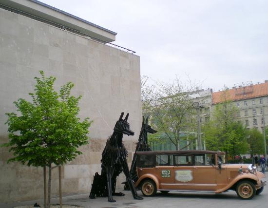 Free Budapest Walking Tours: doggies