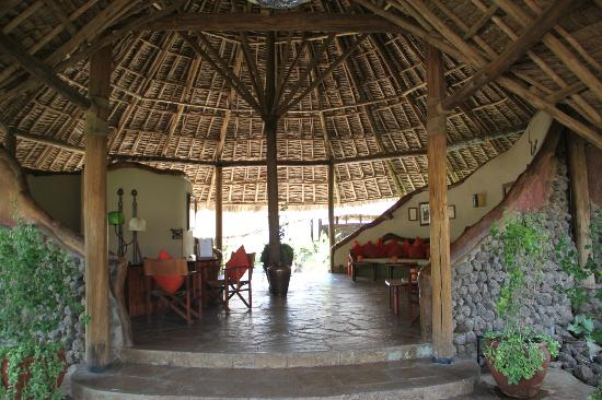 Tortilis Camp: Welcome Lobby