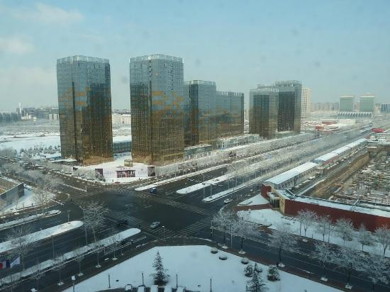 Pullman Beijing South: Fresh snowfall