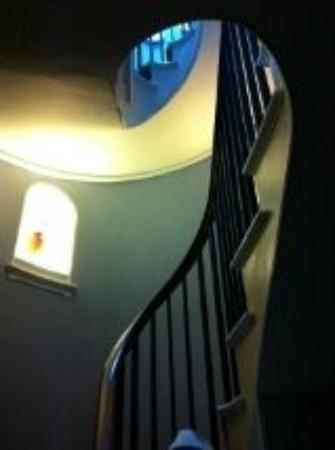 Gothic House staircase