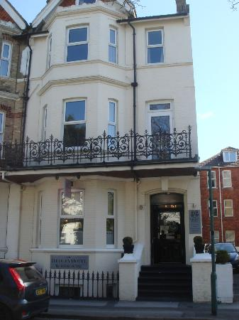 The Hedley Townhouse : Front of the hotel