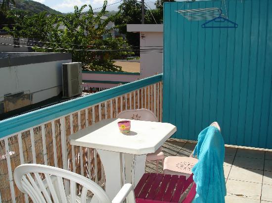 HOTEL DE LA PLAGE : Terrasse chambre confort