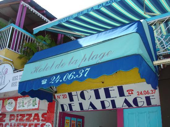 HOTEL DE LA PLAGE : Entrée
