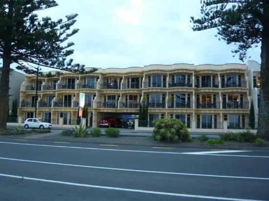 海岸線汽車旅館照片