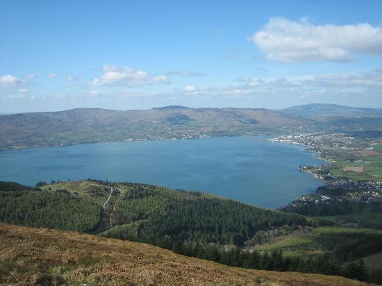 Rostrevor Holidays: Carlingford Loch Looking West