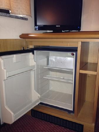 Hotel Gonzaga: frigo bar... solo frigo