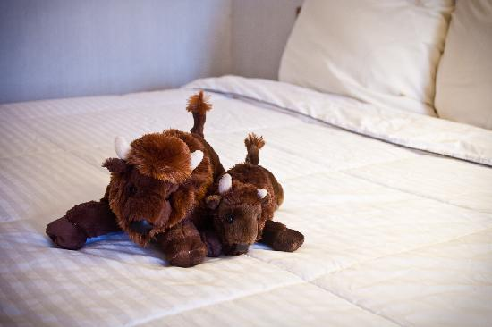 Painted Buffalo Inn: Buffaloes for Sale in Our Guest Rooms