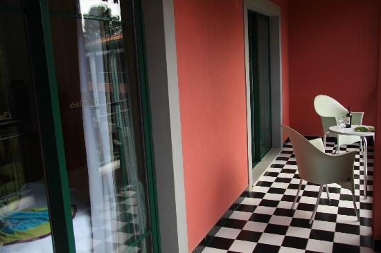 Quinta do Monte: la terrasse de la chambre