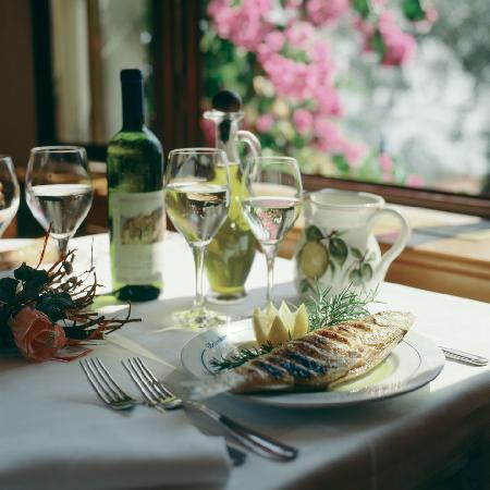 Hotel Belvedere: Grilled fish