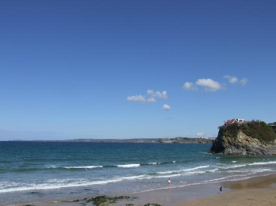 The Quies: newquay beach