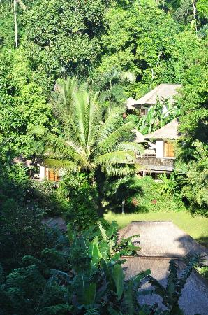 Hanging Gardens of Bali: Views of villas