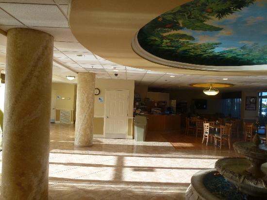 Holiday Inn Express Cocoa Beach: Reception
