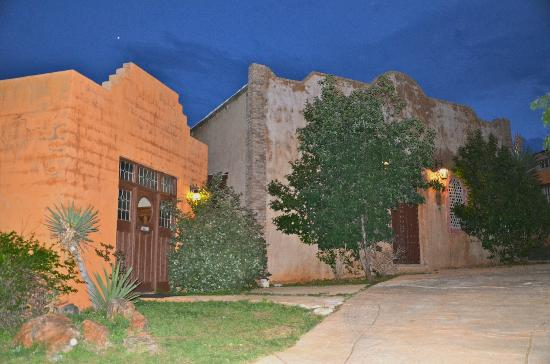 Trois Estate at Enchanted Rock: Sunset View of the Villa's
