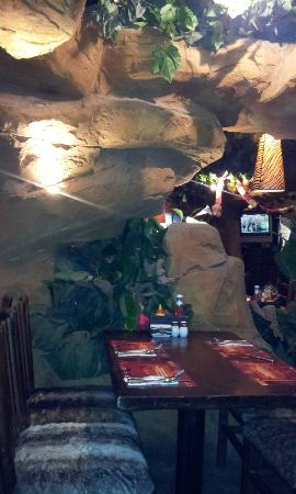 The distinguished interior decoration of the planet africa returant