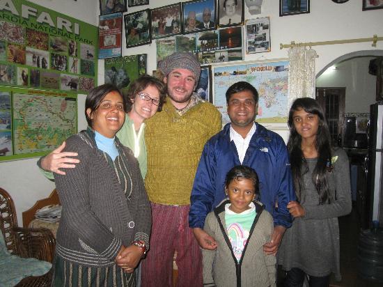 Pokhara Star Inn: Family Adhikari, perfect hosts!!