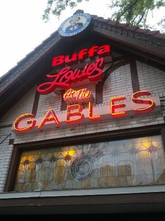 Buffa Louie's at the Gables: Outside