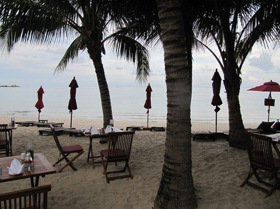 Anantara Rasananda Koh Phangan Villas : Beach restaurant