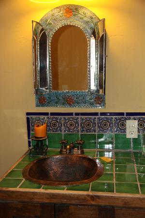 Posada del Cortes Hotel: Bathroom at the Cabin at San Javier