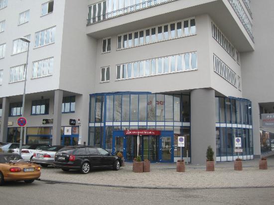Arcadia Hotel Heidelberg: ホテルの外観です