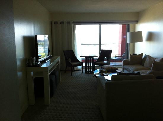 Sheraton Puerto Rico Hotel & Casino: Living Room