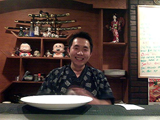 Hana Sushi: Chef Ken, owner.