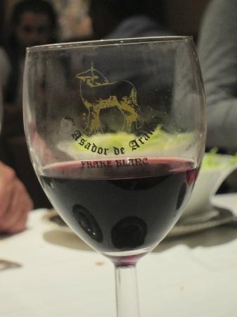 Asador de Aranda: Un vino excelente y a muy buen precio
