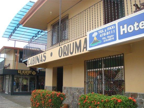 Cabinas Oriuma: Frontage