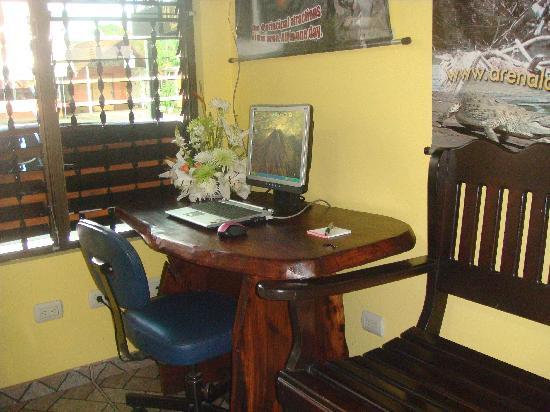 Cabinas Oriuma: Free internet access