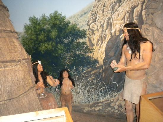 The Point Vicente Interpretive Center: Native American exhibit