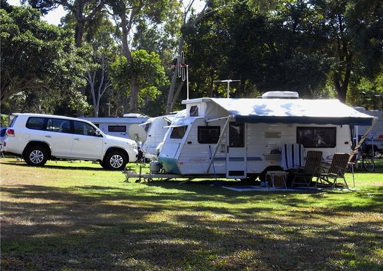 Bargara, Australia: Shady Powered Sites