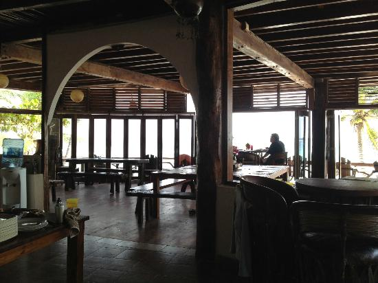 Amansala Eco Chic Resort: dining room