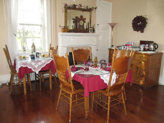 The Lightner Farmhouse: Dining Room