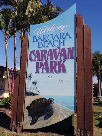 Bargara Beach Caravan Park: Welcome to Bargara Beach