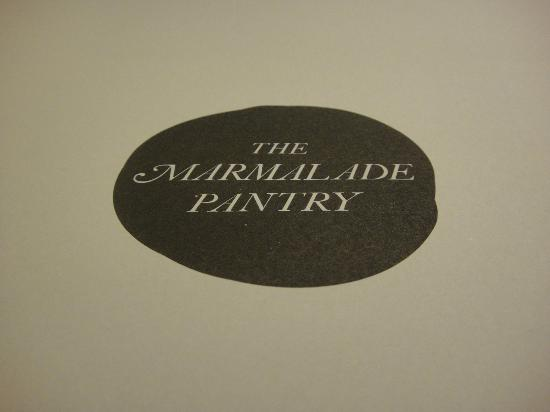 The Marmalade Pantry: The paper placemat