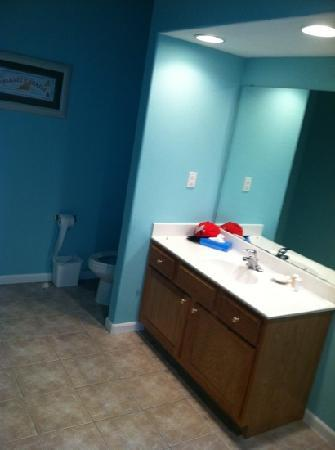 Palace View Resort by Spinnaker: bathroom of 913 A/B