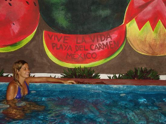 Hostel Vive la Vida: En la Alberca del VIVE
