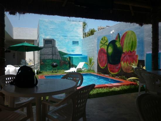 Hostel Vive la Vida: en la palapa