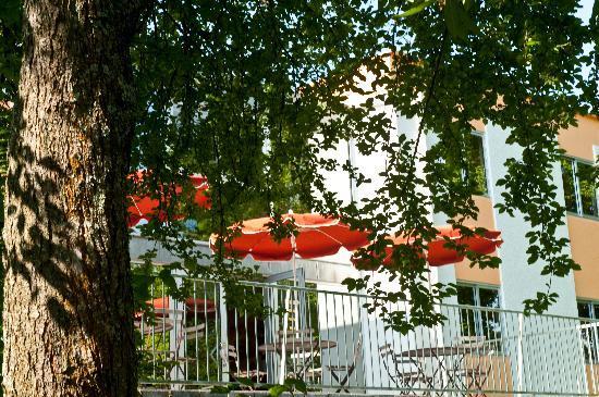 Citotel Les Alizes : terrasse